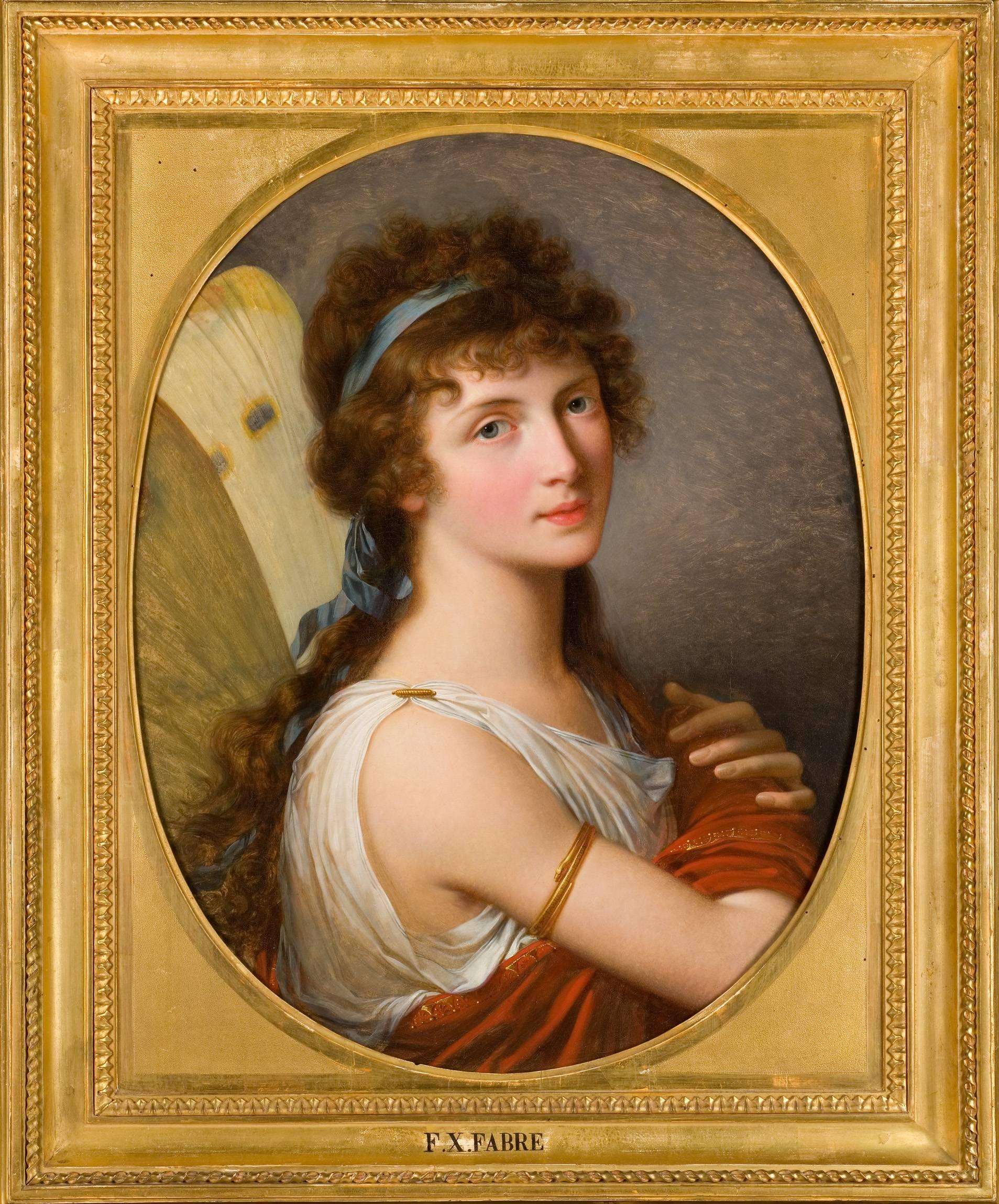 Anne Bermingham (as Psyche) by François-Xavier Fabre (1766-1837). Musée Fabre, Montpellier.