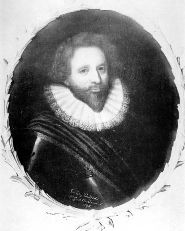 Toby Caulfeild, 1st Lord Caulfeild, Baron of Charlemont. Public domain.